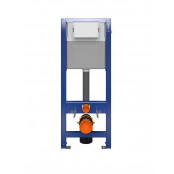 Инсталляция AQUA 40, quick fix, механич., металлический каркас для унитаза с бачком,универсальная, Сорт1