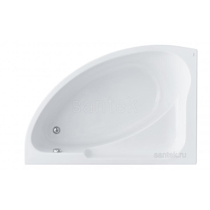 Ванна Santek Гоа 150х100 L асимметричная белая 1WH112033