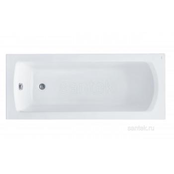 Ванна Santek Монако 160х70 прямоугольная белая 1WH111977