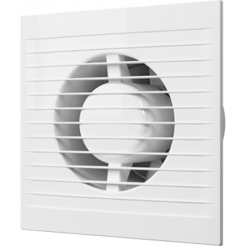 Эра E 100 S Вентилятор накладной 100 мм (90 м³/ч, 220 В, 14 Вт, 35 дБ, сетка, защита, IP24, белый)