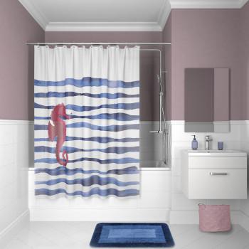 Штора для ванной комнаты, 180*180см, PEVA, P11PV11i11, IDDIS