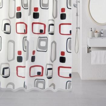 Штора для ванной комнаты, 180*180 см, PEVA, Illusion, Milardo, 515V180M11