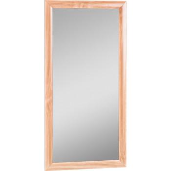 Зеркало МДФ профиль 600х400 Бук Домино DM9007Z