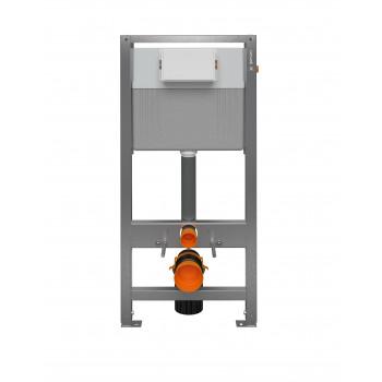 Инсталляция AQUA 50 SLIM, пневматич., quick fix, гальв., для унитаза с бачком, Сорт1