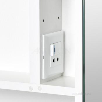 Зеркальный шкаф Aquaton Инфинити 65 белый 1A197002IF010