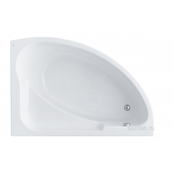 Ванна Santek Гоа 150х100 R асимметричная белая 1WH112032