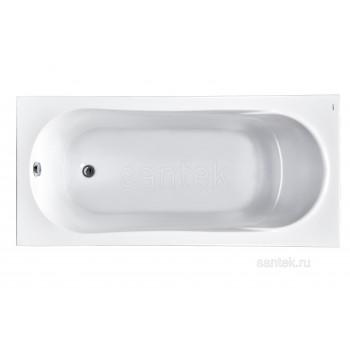 Ванна Santek Касабланка XL 170х80 прямоугольная белая 1WH302441