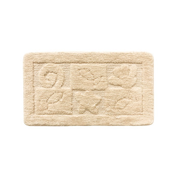 Коврик для ванной комнаты, 40*70 см, микрофибра, Reef (beige), Milardo, 310M470M12