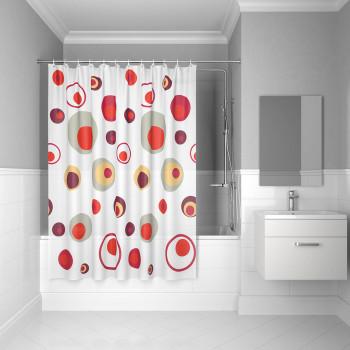 Штора для ванной комнаты, 180*180см, PEVA, P19PV11i11, IDDIS