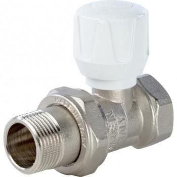Вентиль терморегулирующий ручной прямой 3/4 STOUT