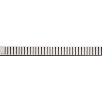 PURE-350L Решетка для водоотводящего желоба (Нержавеющая сталь глянцевая)