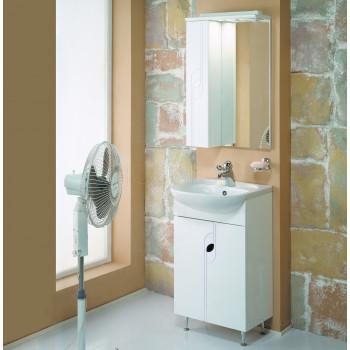 Зеркальный шкаф Aquaton Панда 50 левый белый 1A007402PD01L