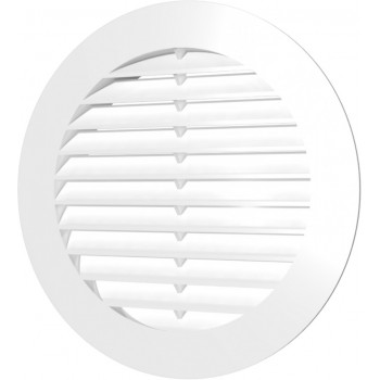 Era 10РК Решетка вентиляционная Ø100 мм (пластиковая, круглая)