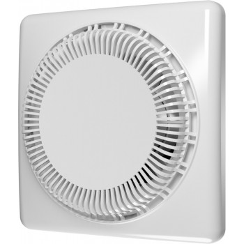 Эра Disc 4C Вентилятор накладной 100 мм (80 м³/ч, 220 В, 16 Вт, 35 дБ, обр. клапан, защита, IP24, белый)