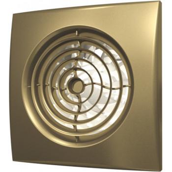 Эра Aura 4C Champagne Вентилятор накладной 100 мм (90 м³/ч, 220 В, 8.4 Вт, 25 дБ, обр. клапан, ш/подшипники, индикатор, защита, IP25, шампань)