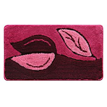 Коврик для ванной комнаты, 40*70 см, акрил, Magic Lily (rose), Milardo, 450A470M12