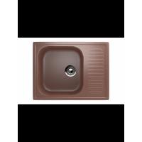 Кухонная мойка врезная MONACO Petit Rectangle 640*490*190