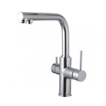 Смеситель для кухни, с подключением к фильтру питьвой воды, хром, Comfort, Lemark, LM3060C