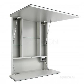 Зеркальный шкаф Aquaton Валенсия 75 белый 1A125302VA010