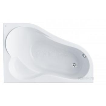 Ванна Santek Ибица 150х100 R асимметричная белая 1WH112035