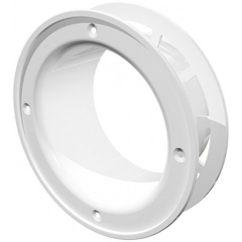 Era 10FLR Фланец круглый со стопорным кольцом (Ø100 мм, пластик)