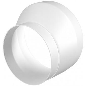 Era 1015РЭП Эксцентриковый круглый соединитель (Ø100/150 мм, пластик)