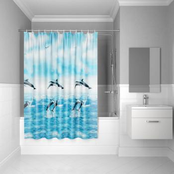 Штора для ванной комнаты, 180*180см, PEVA, P21PV11i11, IDDIS
