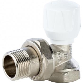 Вентиль терморегулирующий ручной угловой 3/4 STOUT