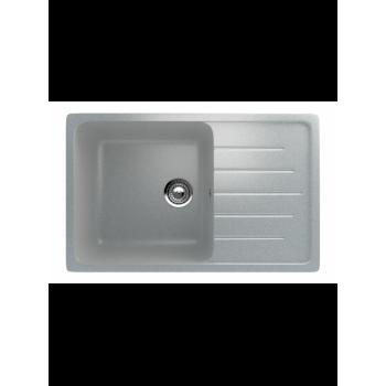 Кухонная мойка врезная MONACO Rectangle 745 матовая 745*490*190