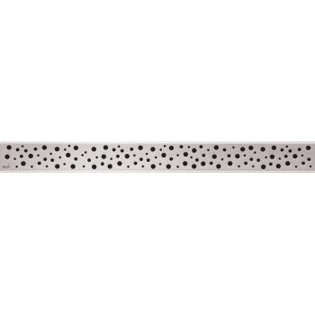 BUBLE-750L Решетка для водоотводящего желоба (Нержавеющая сталь глянцевая)