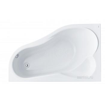 Ванна Santek Ибица XL 160х100 L асимметричная белая 1WH112036