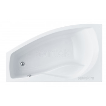 Ванна Santek Майорка 150х90 L асимметричная белая 1WH111984