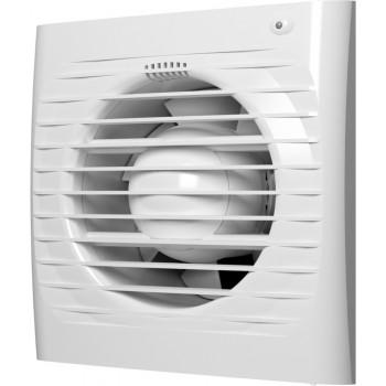 Эра Era 5S Вентилятор накладной 125 мм (183 м³/ч, 220 В, 16 Вт, 36 дБ, сетка, индикатор, защита, IP24, белый)