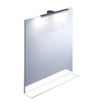 Зеркало, белое, 70 см, Custo, IDDIS, CUS70W0i98