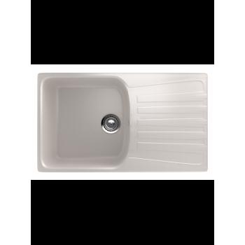 Кухонная мойка врезная MONACO Rectangle 840 матовая 840*485*190