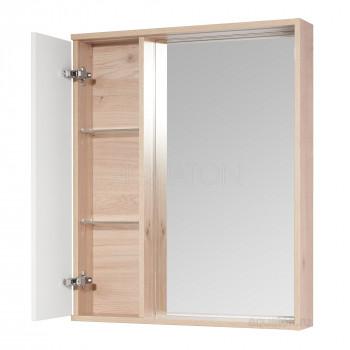Зеркальный шкаф Aquaton Бостон 60 дуб эврика 1A240202BN010