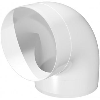 Era 10ККП Колено круглое 90° (Ø100 мм, пластик)
