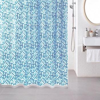 Штора для ванной комнаты, 180*180 см, PEVA, Mosaic, Milardo, 507V180M11