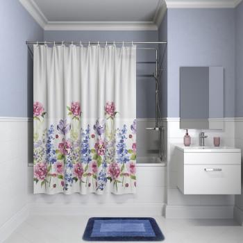 Штора для ванной комнаты, 180*180см, PEVA, P06PV11i11, IDDIS