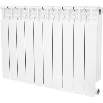 STOUT Space 500 10 секций радиатор биметаллический боковое подключение RAL9016