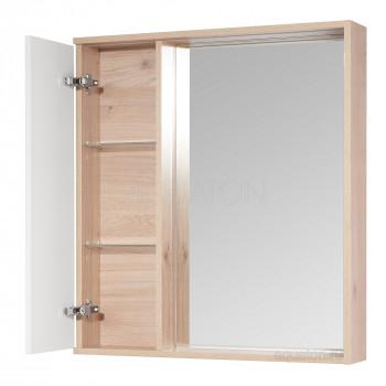 Зеркальный шкаф Aquaton Бостон 75 дуб эврика 1A240302BN010