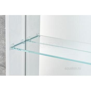 Зеркальный шкаф Aquaton Кантара дуб полярный 1A205802ANW70