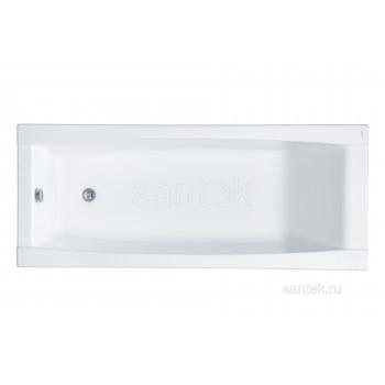 Ванна Santek Санторини 160х70 прямоугольная белая 1WH302494