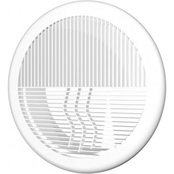 Era 12,5РПКФ Решетка вентиляционная Ø125 мм (пластиковая, круглая)
