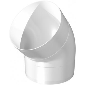 Era 10ККП 45° Колено круглое 45° (Ø100 мм, пластик)