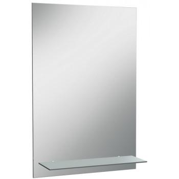 Зеркало навесное ДОМИНО Классика 01-с-полкой 50x70 см