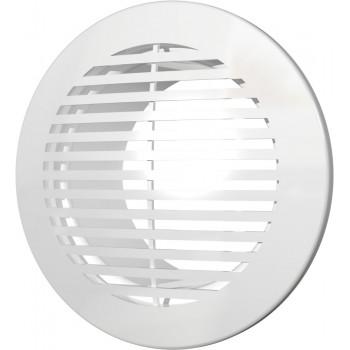 Era 12РКФ Решетка вентиляционная Ø120 мм (пластиковая, круглая)