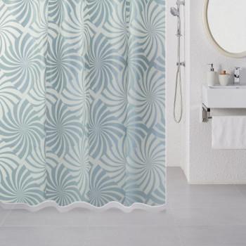 Штора для ванной комнаты, 180*180 см, PEVA, Amazing Pattern (blue), Milardo, 505V180M11