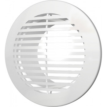 Era 10РКФ Решетка вентиляционная Ø100 мм (пластиковая, круглая)