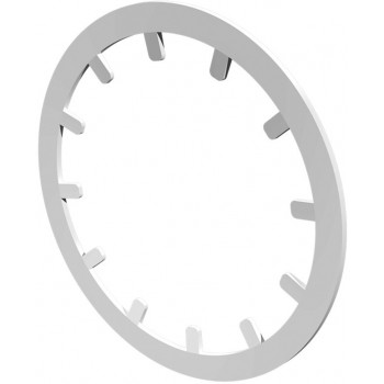 Era 12,5LR Стопорное кольцо круглое под фланец (Ø125 мм, пластик)